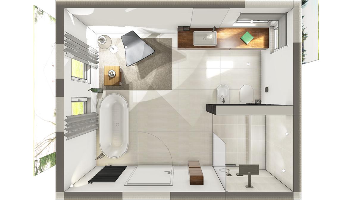 modernern-grundriss-eines-badezimmers-bei-neubau