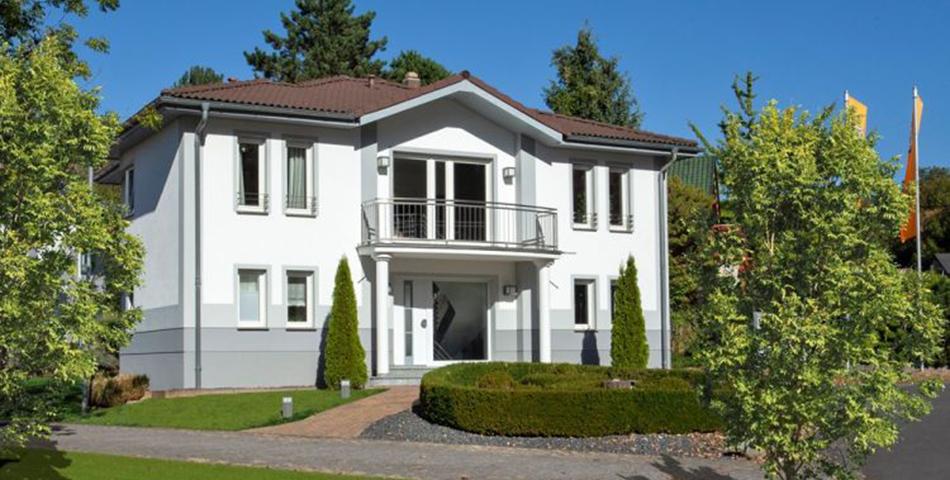 Musterhaus in Frankfurt von Rötzer Ziegel Element Haus