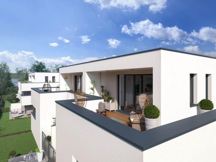 Dachterrasse in exklusiver Immobilie in Herrsching am Ammersee