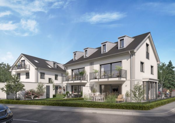 Doppelhaus von Rötzer Immobilien Development in Neuried bei München