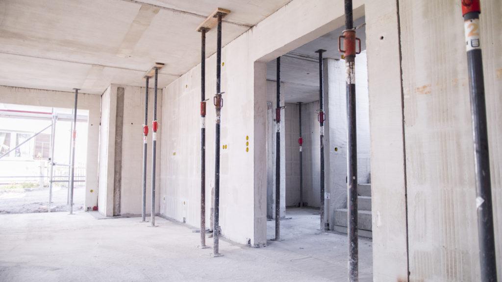 Die Dauer des Hausbaus wird auch vom langwierigen Innenausbau bestimmt
