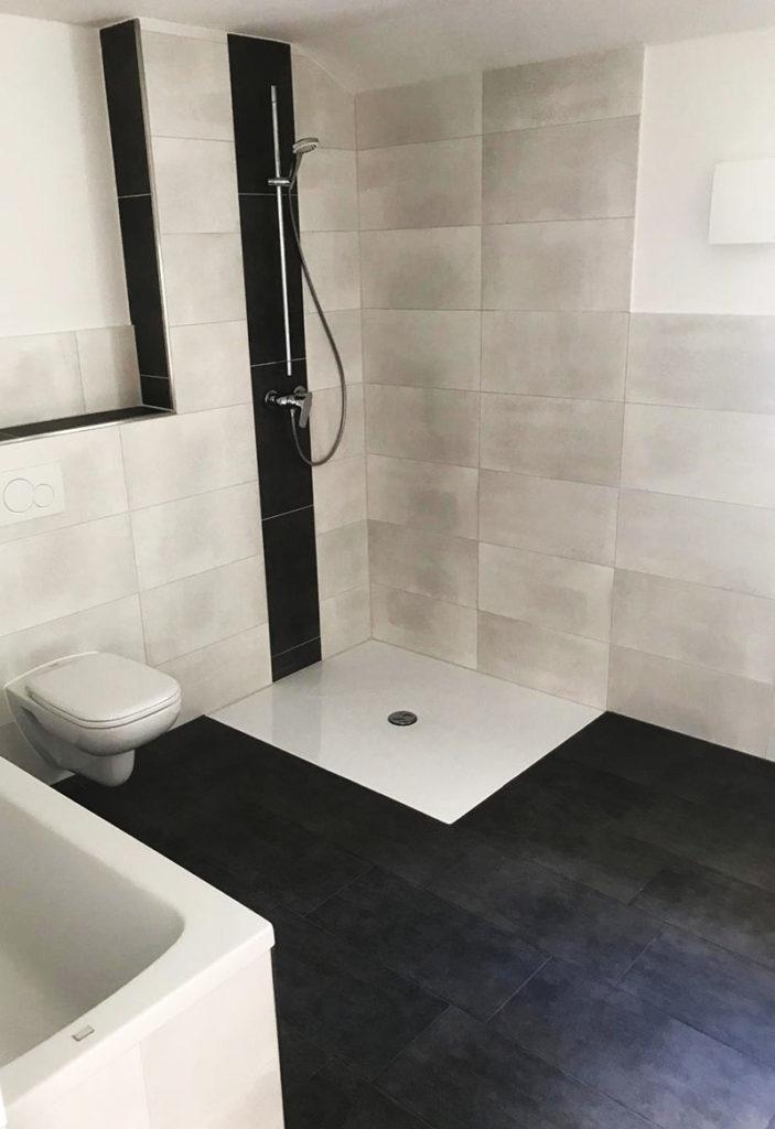 Dusche – Rötzer Ziegelelement Haus
