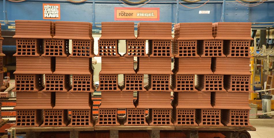 Rötzer Ziegelelement Haus - Ziegelherstellung
