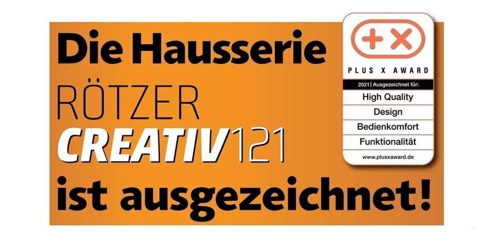 Die Hausserie RötzerCreativ-121 ist ausgezeichnet