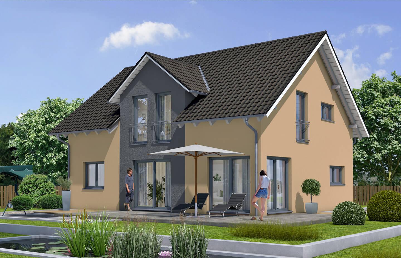 zwerchhaus satteldach r tzer ziegel element haus. Black Bedroom Furniture Sets. Home Design Ideas