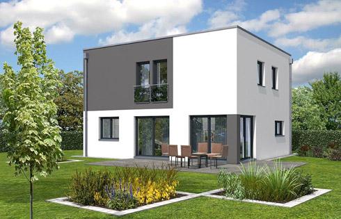flachdach r tzer ziegel element haus. Black Bedroom Furniture Sets. Home Design Ideas